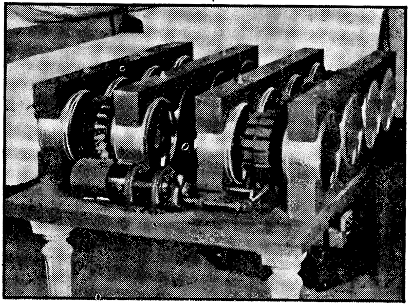 Rotating disc mechanism of the Cellulophone<em> (©Tom Rhea, Keyboard Magazine 1977)</em>