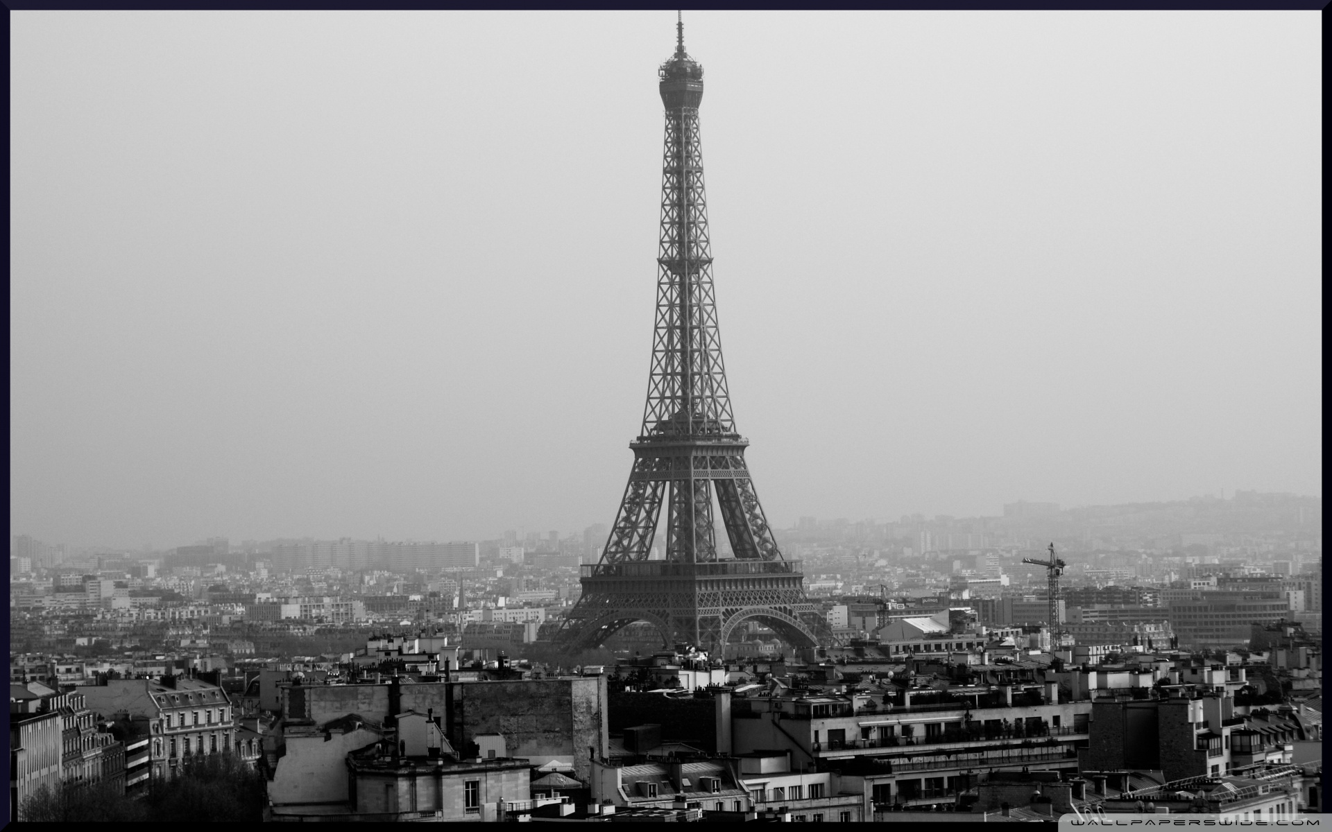 Tower eiffel black and white wallpaper 1920 1200 120 for 1800 x 1200 window