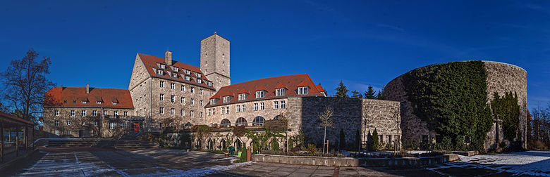 Burg Feuerstein home of the secret Vierling Research Group