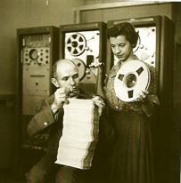 Max Mathews and Joan Miller at Bell labs