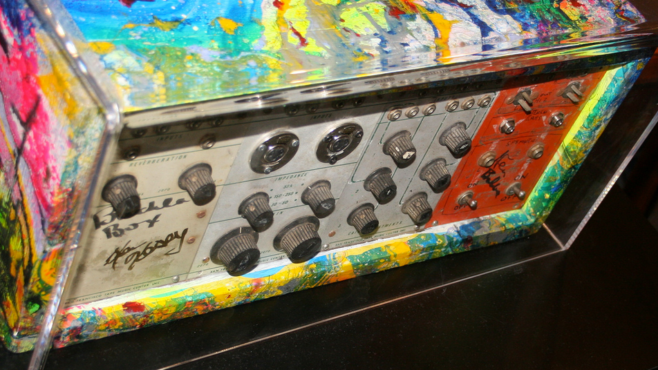 The original Buchla Box - signed by Ken Kessey